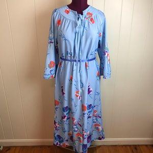 Vintage 70s/80s Classic House Dress Mumu